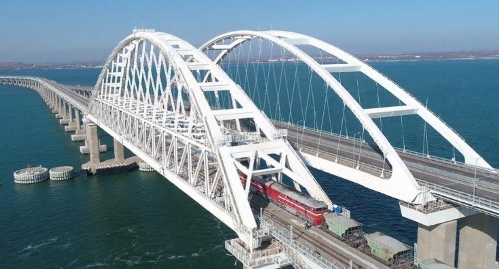 ЖД-мост запущенв 2019 году