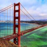 Моста Золотые ворота в Сан-Франциско