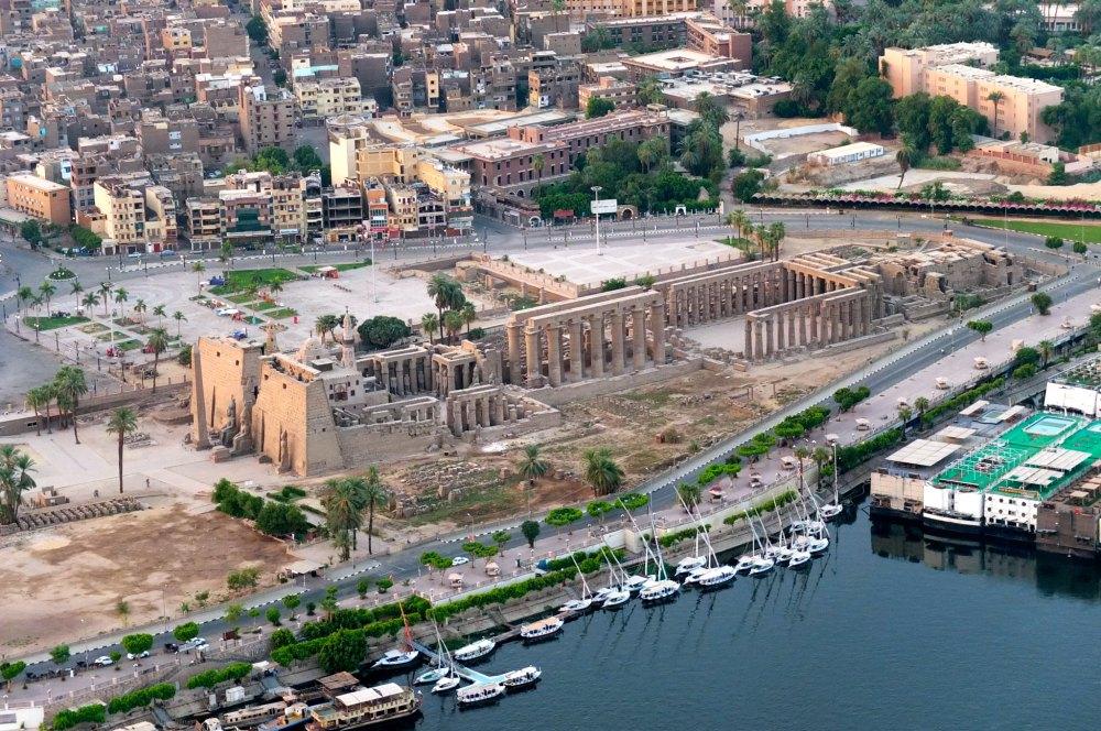 Развалины храма Амона-Ра