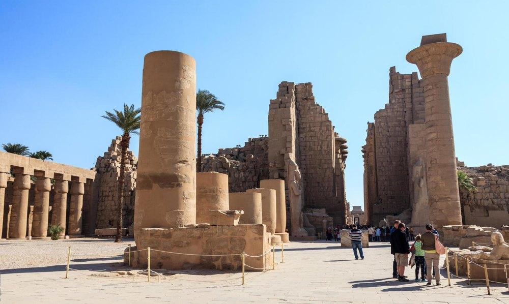 Развалины Луксора