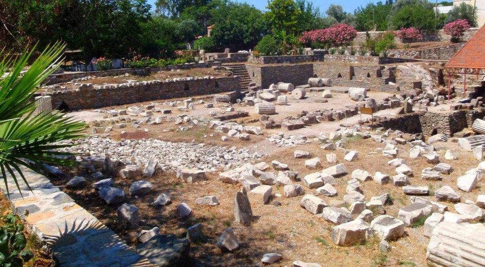 Руины Галикарнасского мавзолея