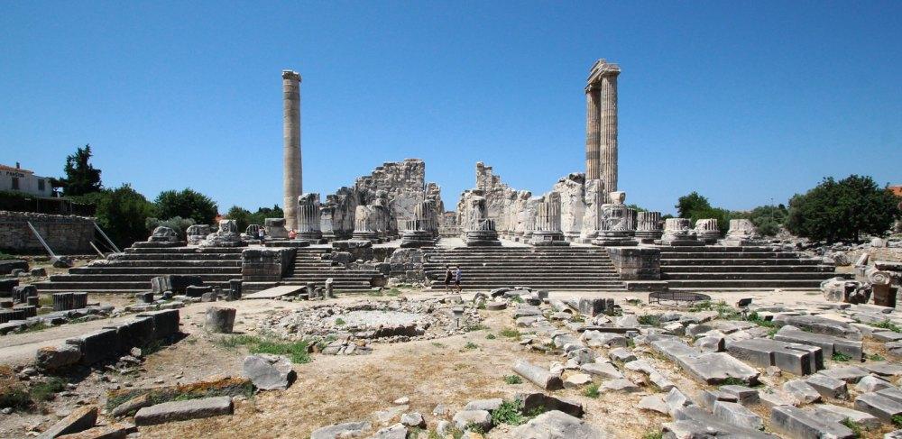 Музей, развалины Галикарнасского мавзолея