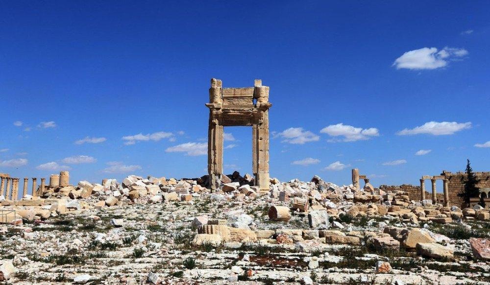 Разрушения древней Пальмиры