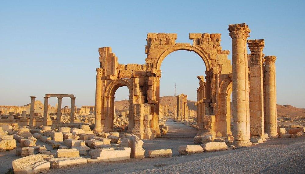 Арка древней Пальмиры