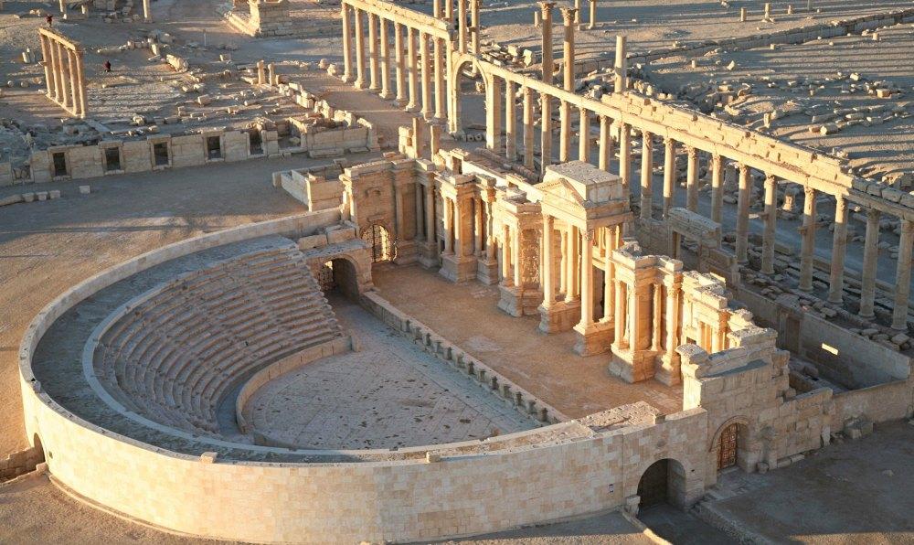 Театр, реконструкция