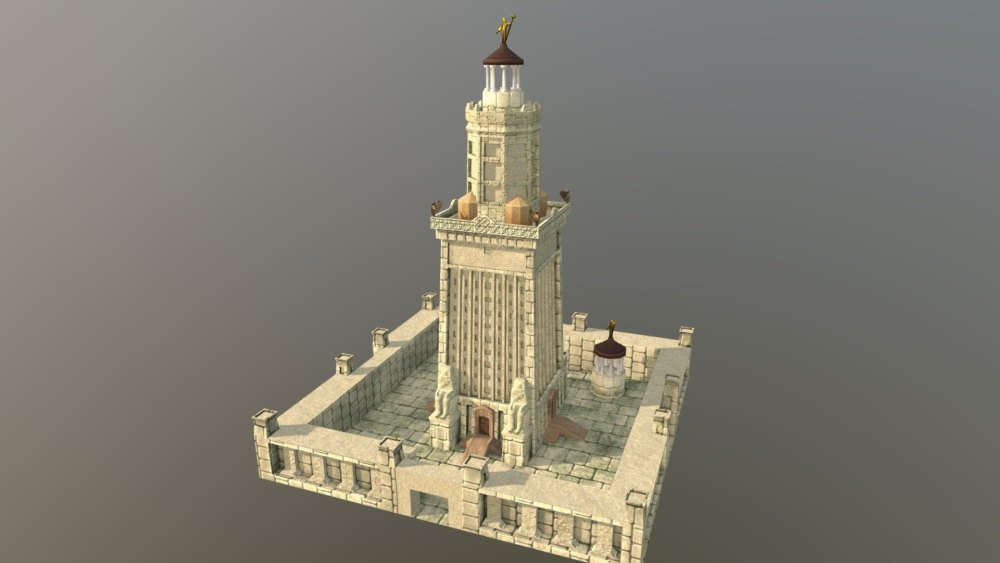Макет маяка