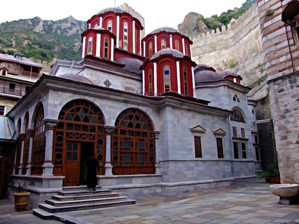 Монастырь святого Павла