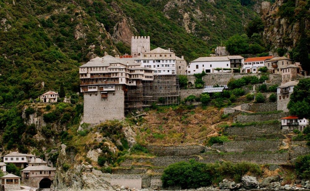 Монастыри на горе Афон