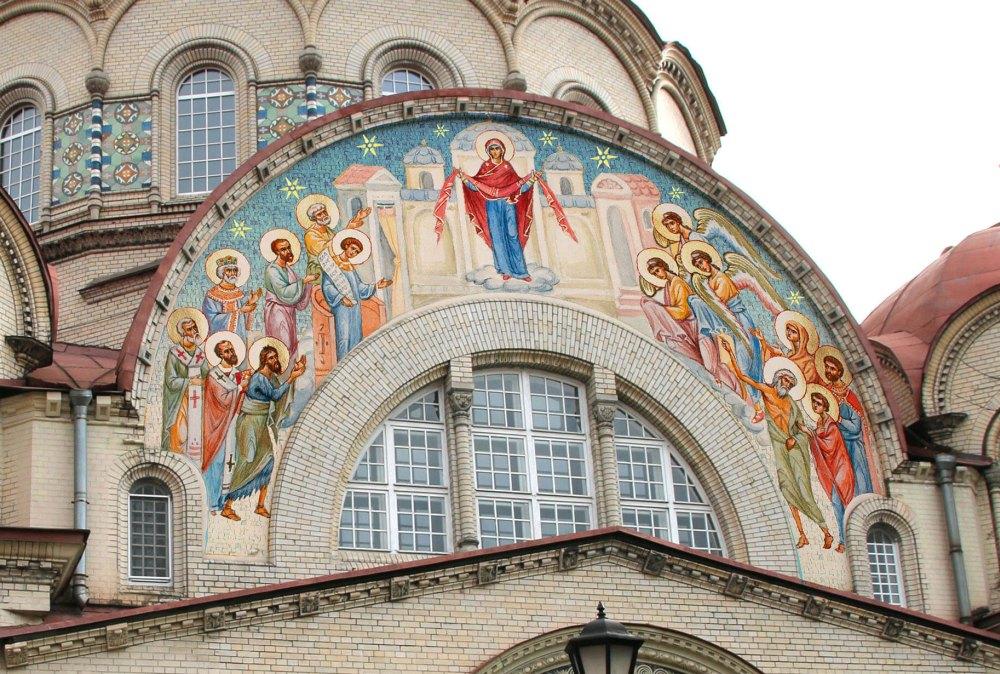 Восстановление святыни