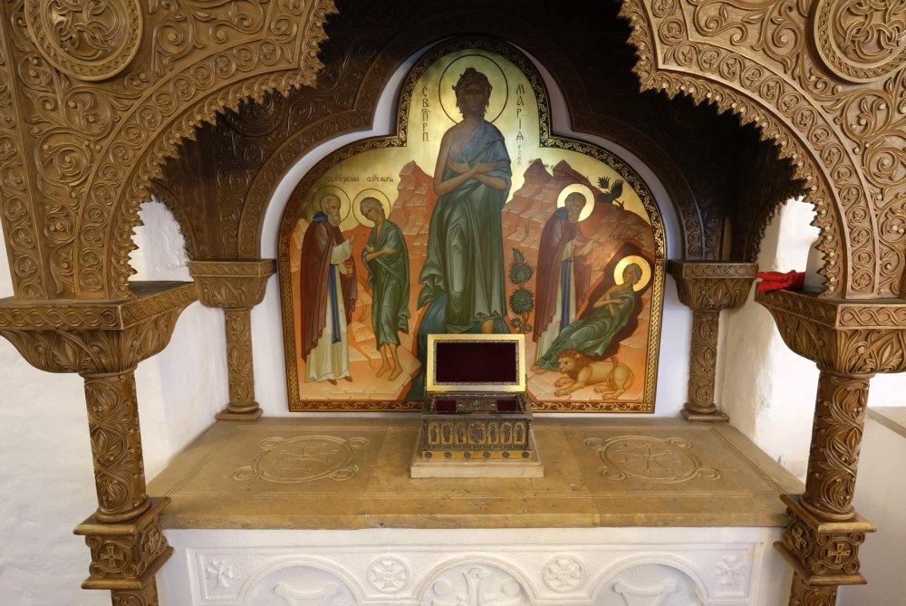 Мощи Марии египетской