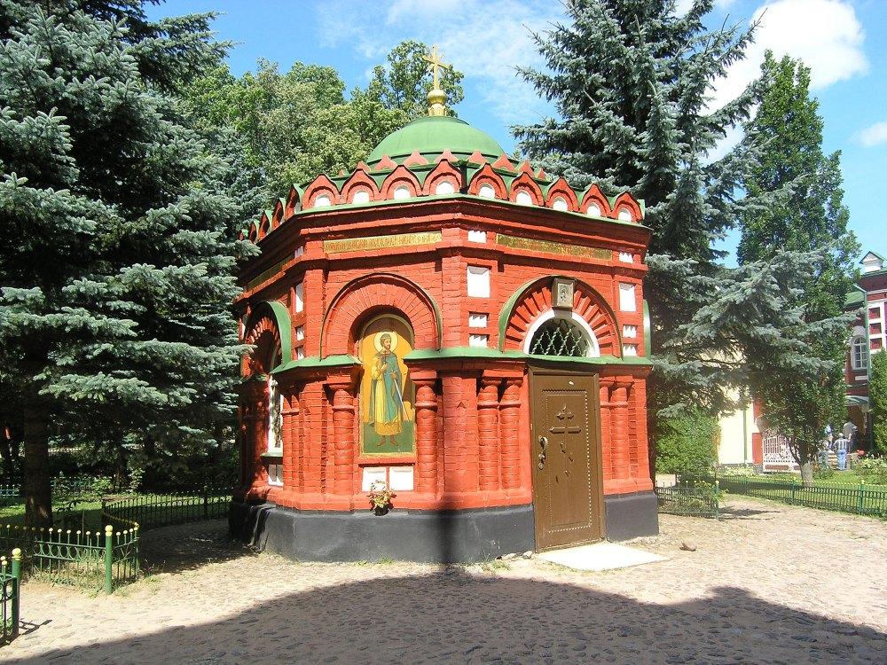 Надкладезная часовня Псково Печерского монастыря