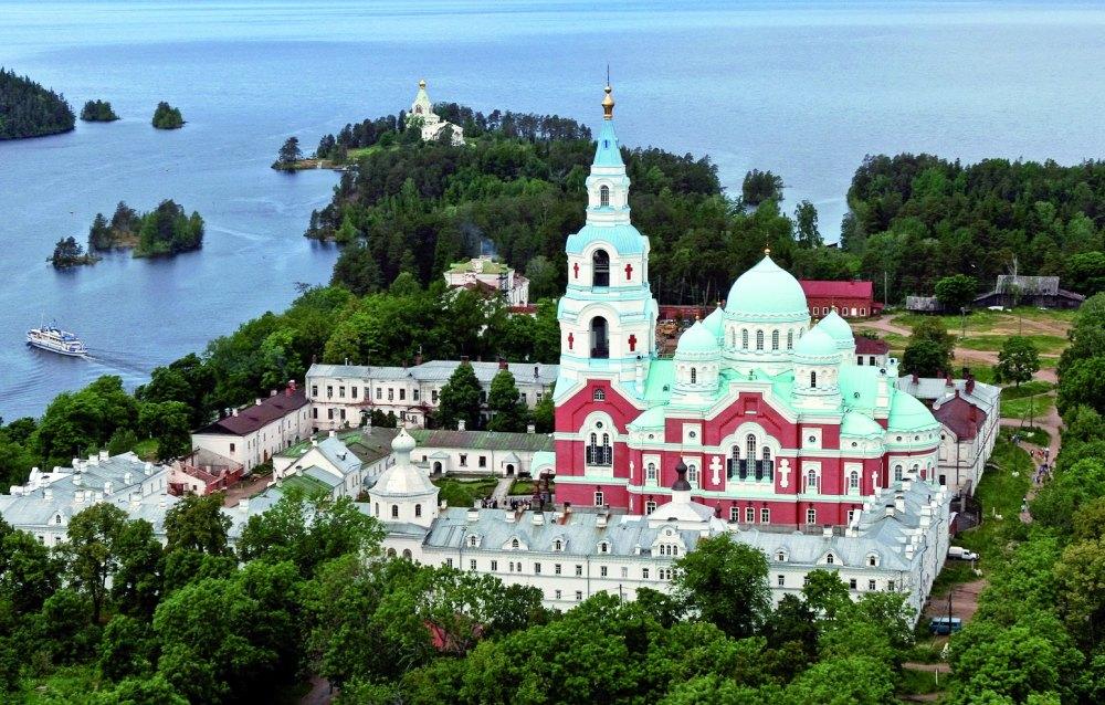 Валаамский монастырь ,19 век