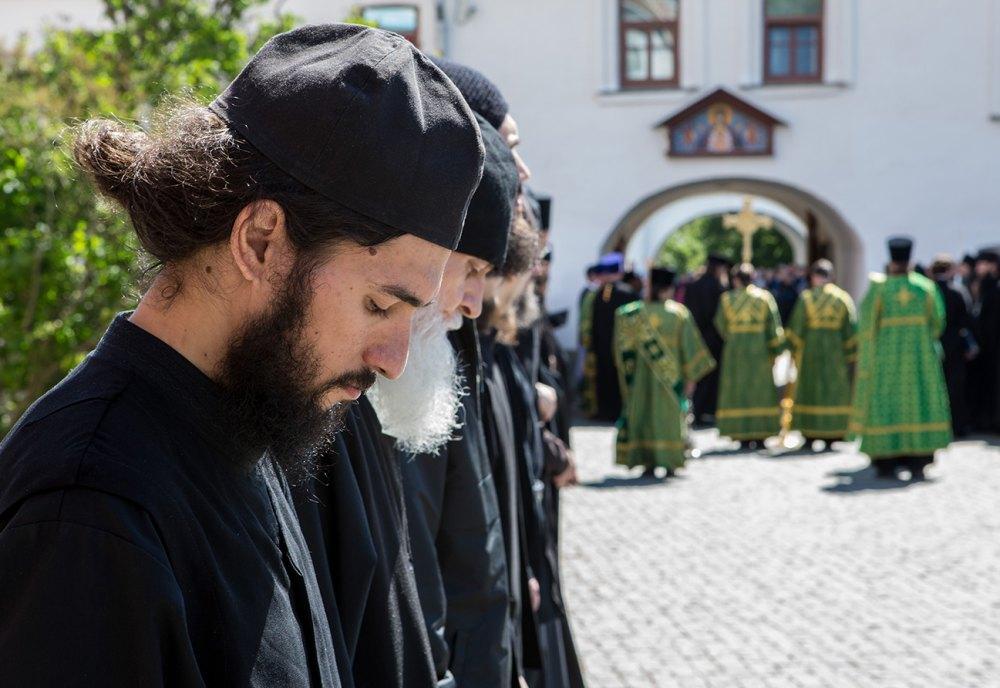 В монастыре 217 насельников и полсотни трудников
