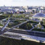 Парящий мост в Москве