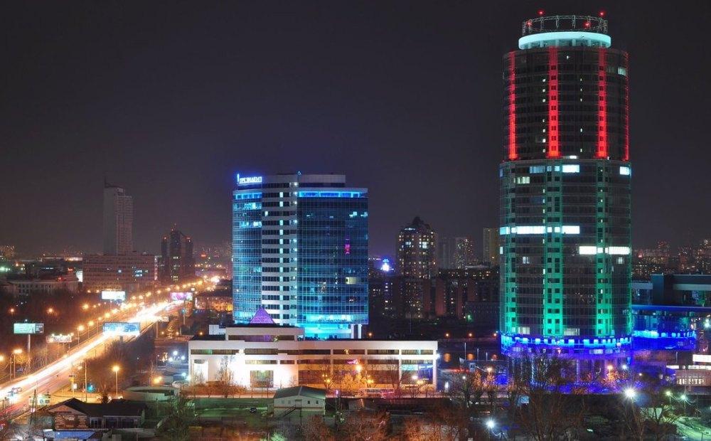 Подсветка здания