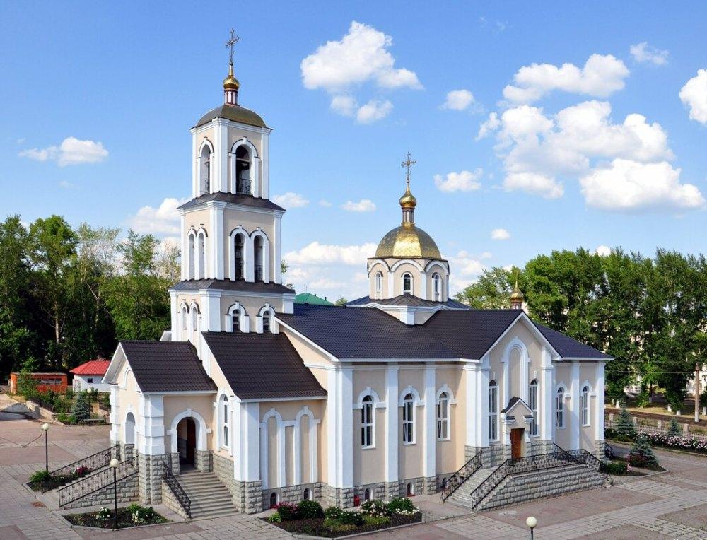 Храм во имя святого благоверного князя Дмитрия Донского