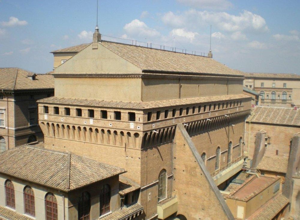Здание Сикстинской капеллы