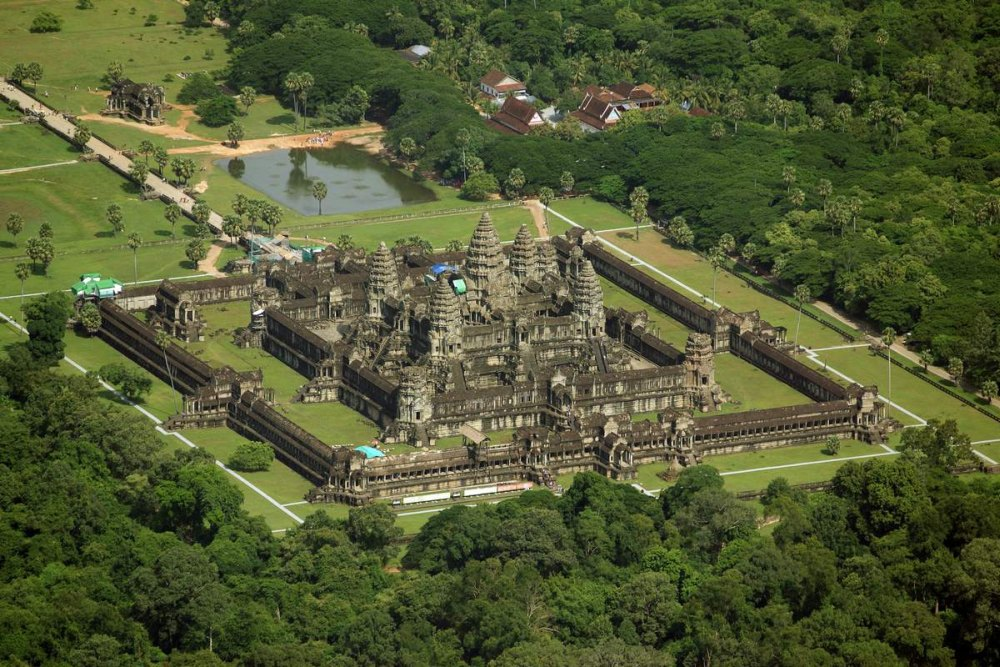 Ангкор Ват, общий вид