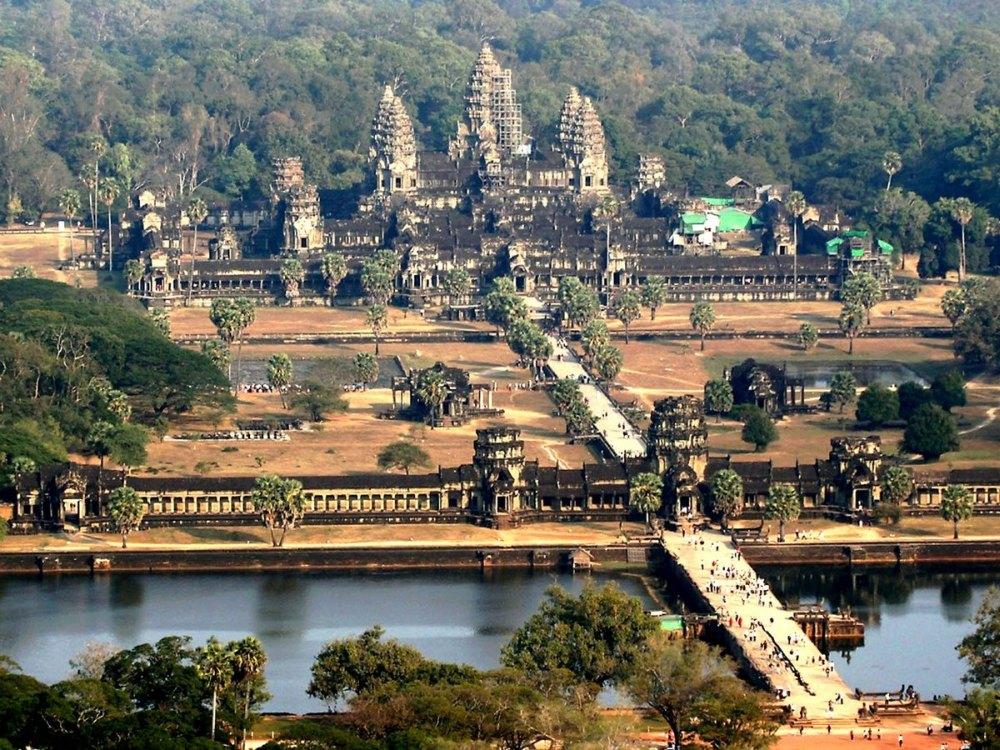 Город-храм в Камбодже
