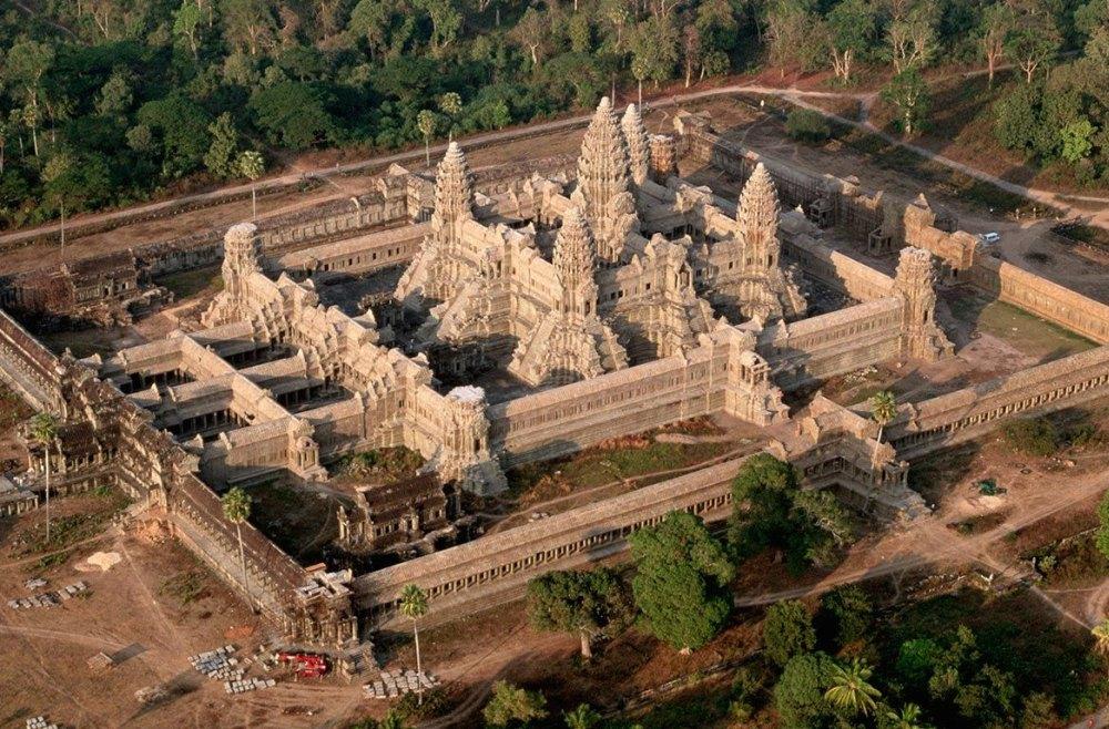 Площадь храма 2,5 кв. км