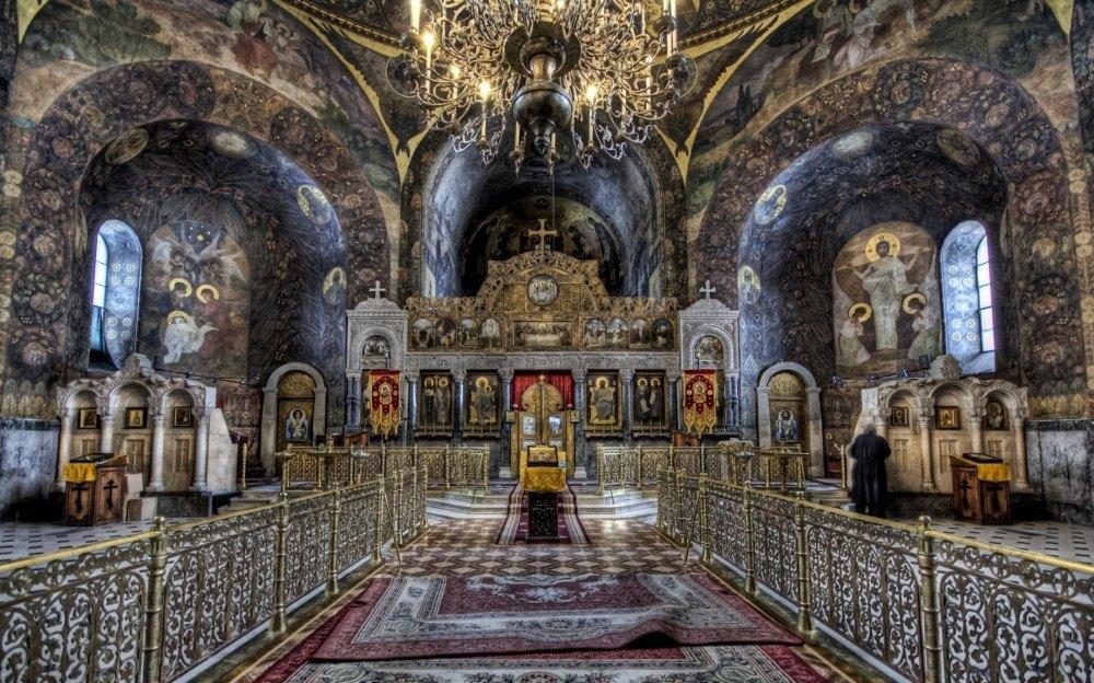 Внутреннее убранство Софийского собора в Киеве