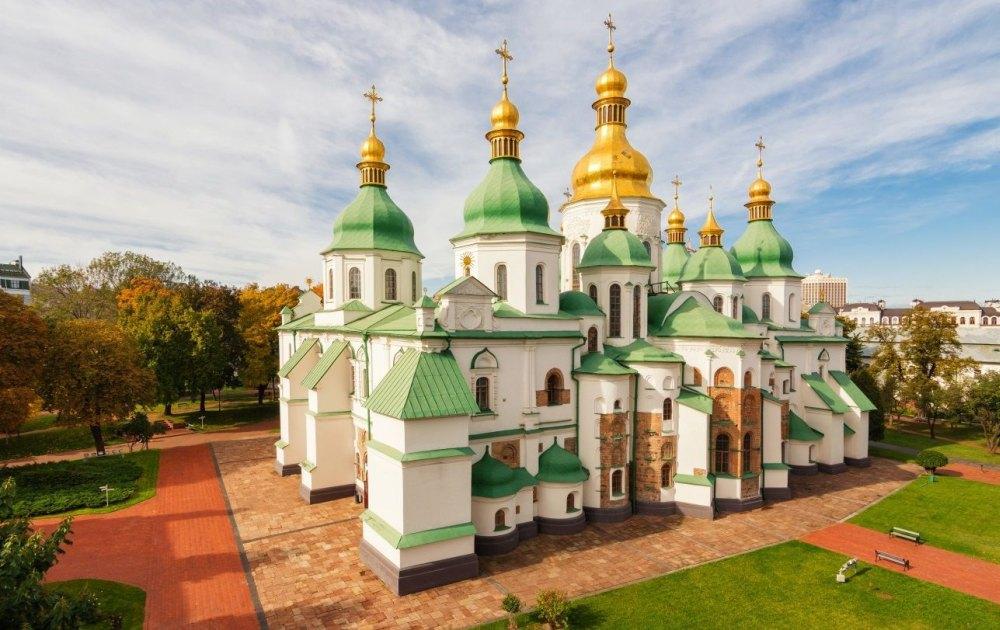 19-купольный Софийский собор