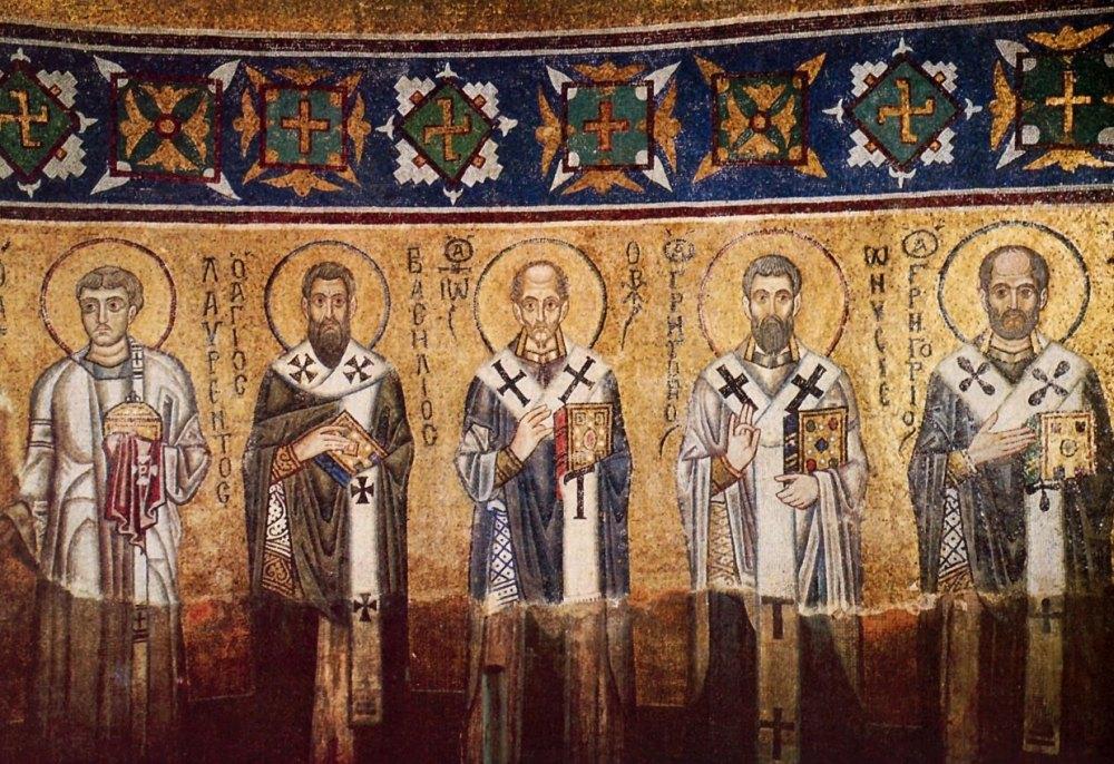 Фрески Софийского собора в Киеве