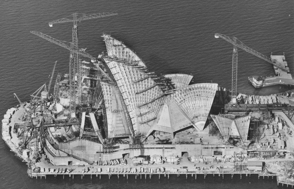 Строительство оперного театра в Сиднее