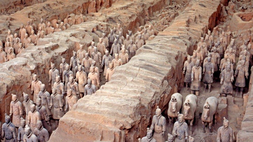 Терракотовая армия Шихуан-ди
