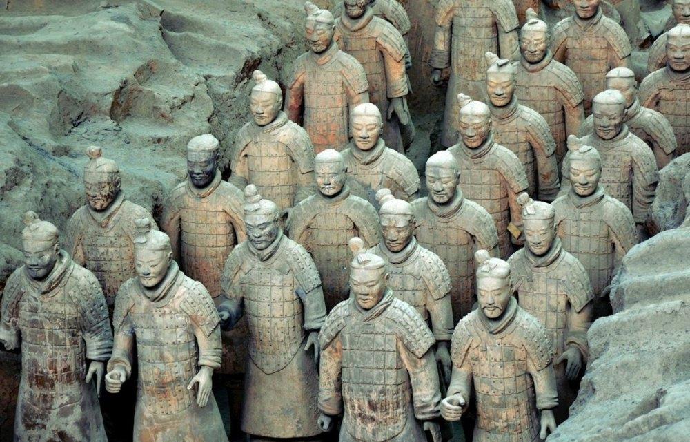 Воины из глины