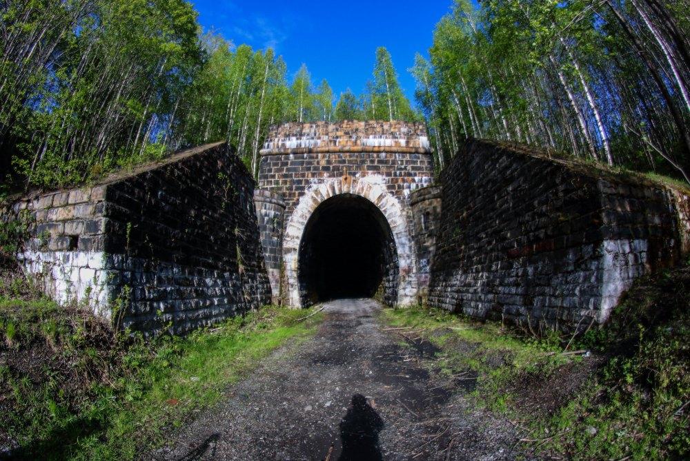 Въезд в Дидинский тоннель