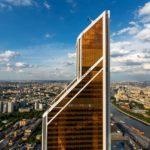 Башня «Меркурий Сити» – золотой элитный небоскреб