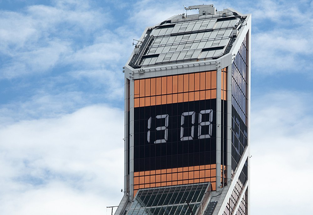 Часы на башне Меркурий