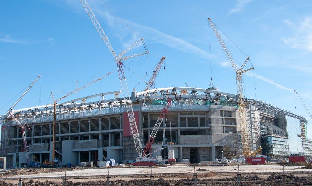 Строительство стадиона для клуба «Спартак»
