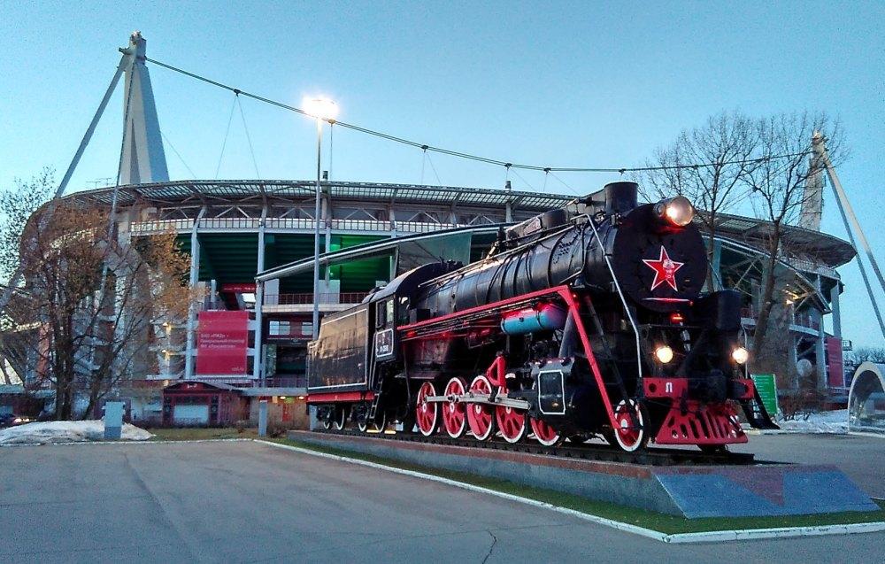 Символ футбольного клуба — локомотив Л-3516
