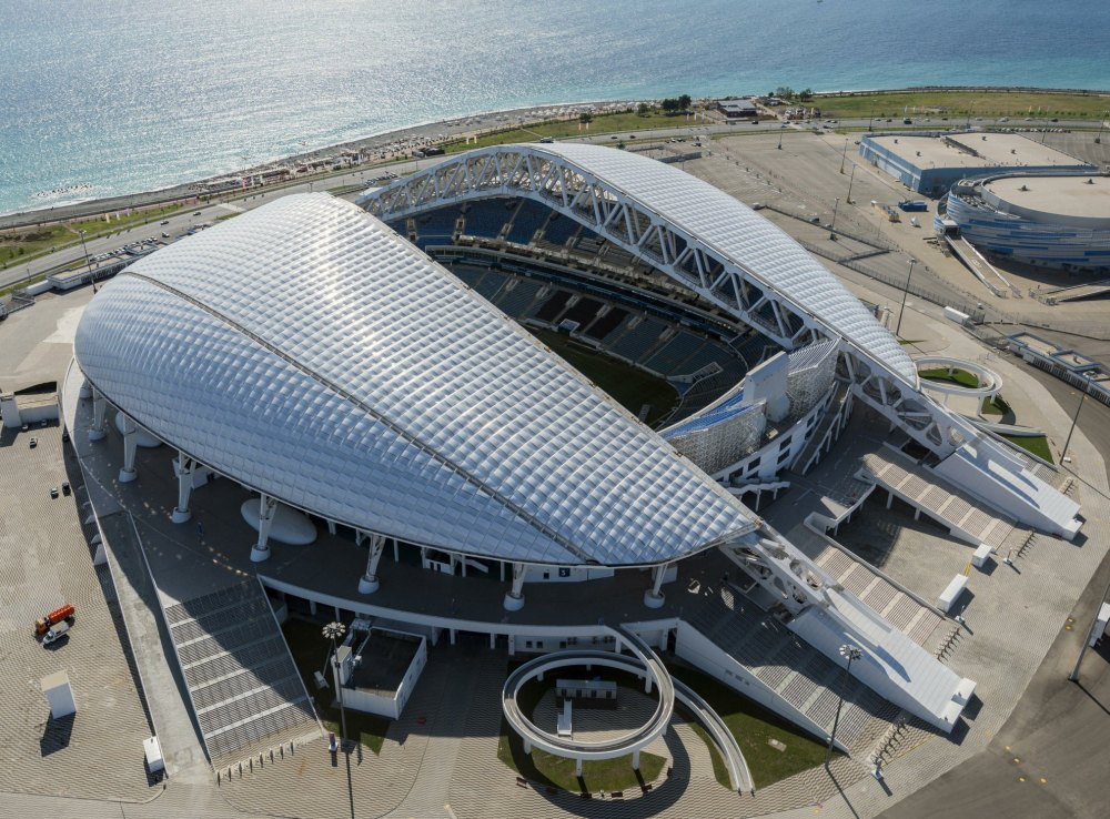 Стадион «Фишт» футбольного клуба «Сочи»