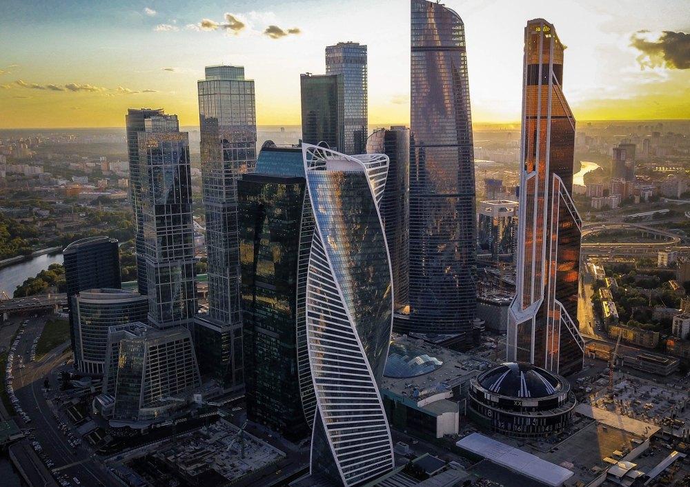 Башня Эволюция Москва Сити