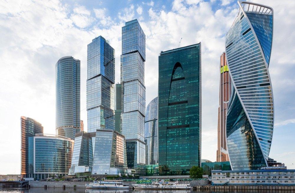 Вид на Москва Сити