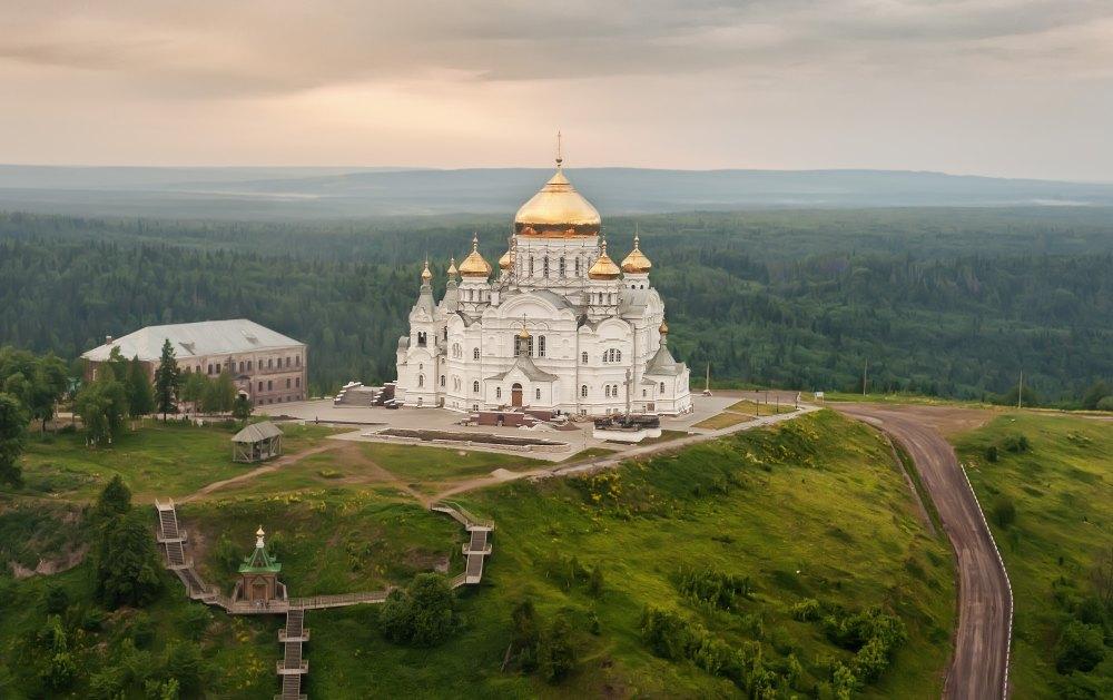Монастырь на горе Белой в Пермском крае