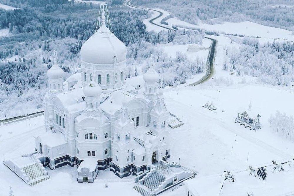 Зимняя сказка в Белогорье