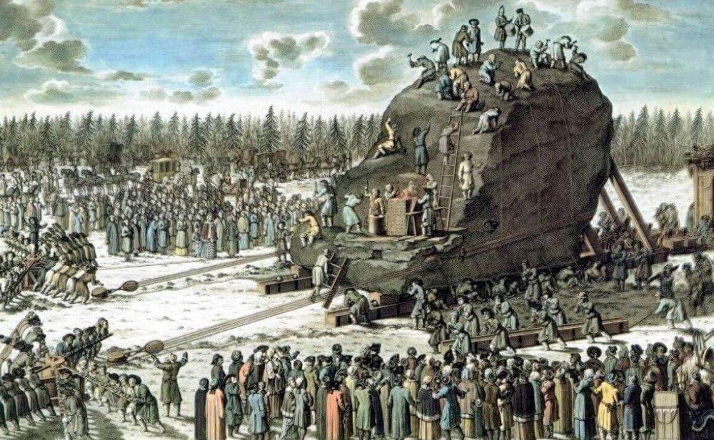 Весил Гром-камень 1 600 тонн
