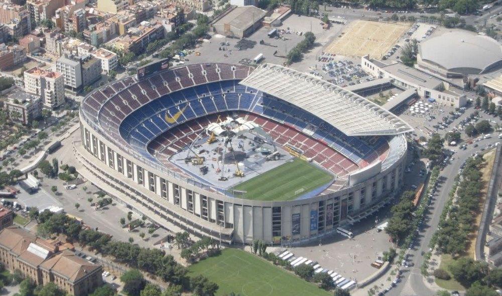 Camp Nou в Барселоне