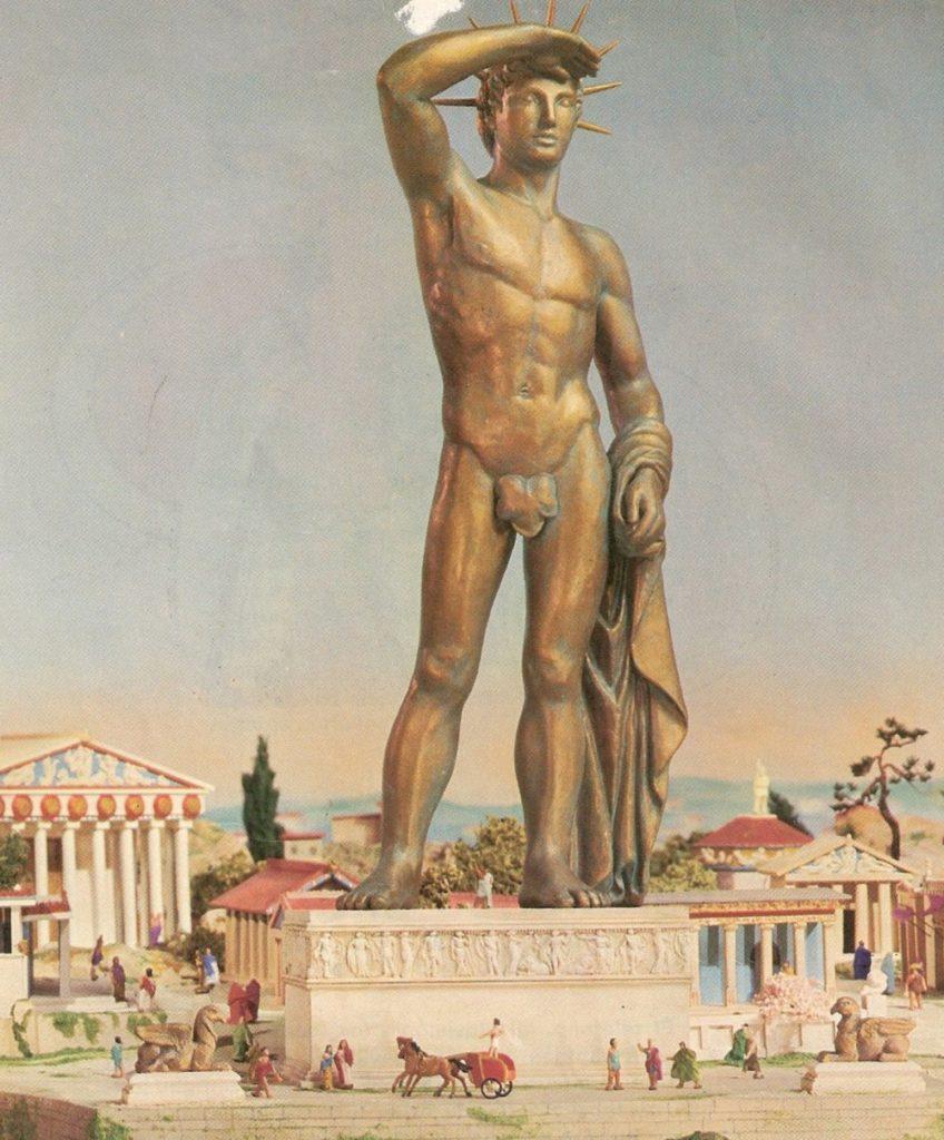Скорее всего, статуя была установлена на острове