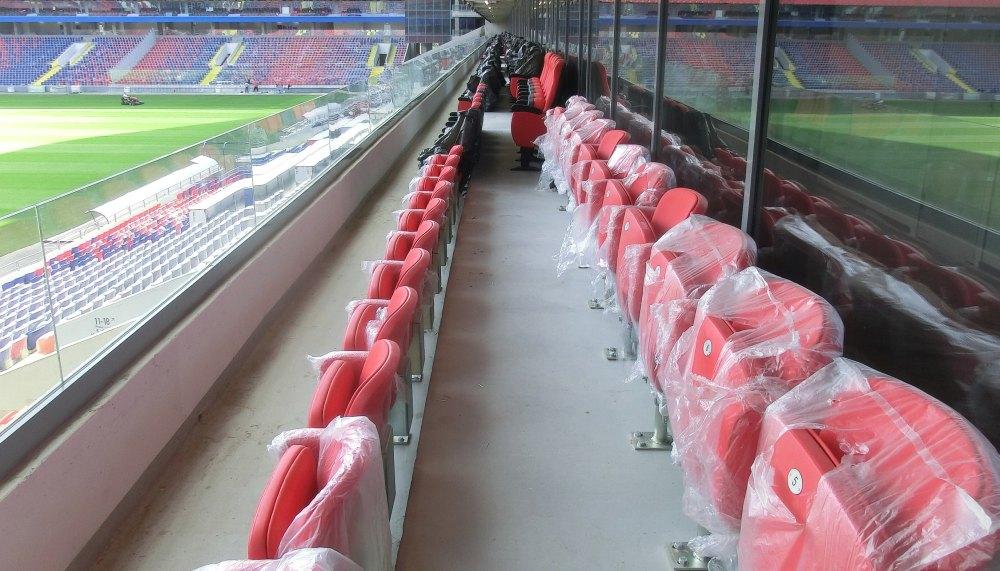 Трибуны стадиона ЦСКА