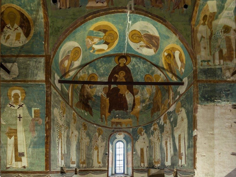 Уникальные фрески Диониса 1502 года