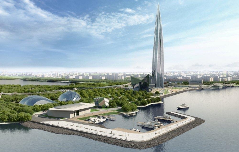 Башня Газпрома в Лахте