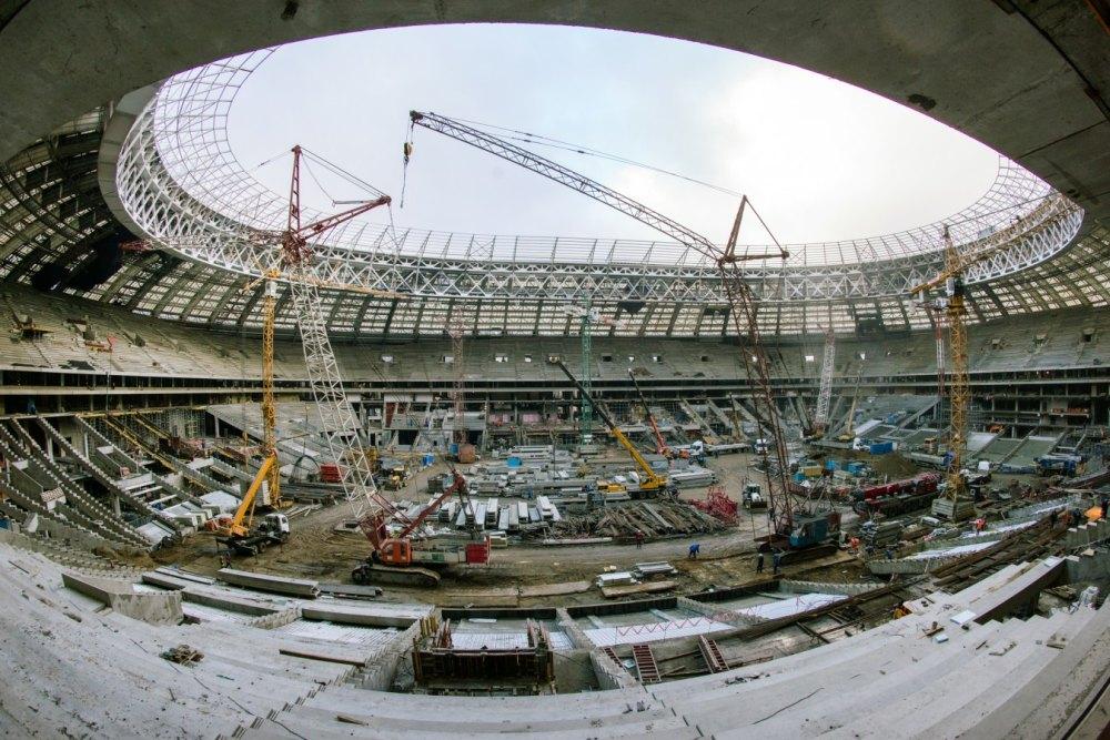 Реконструкция к Чемпионату мира по футболу