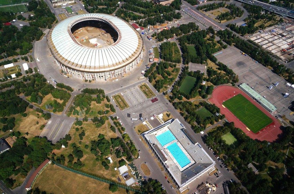 Спортивный комплекс в Лужниках