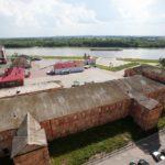 Омская крепость в Сибири