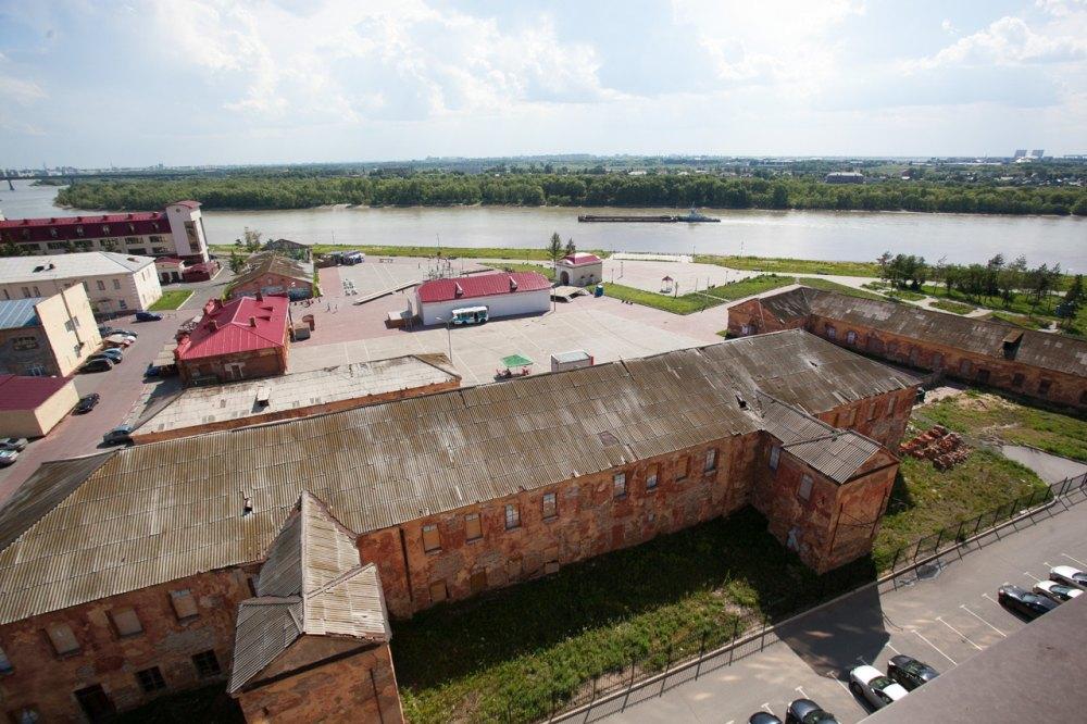 Омская крепость. общий вид